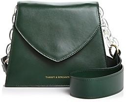 Tammy & Benjamin Gabrielle Leather Shoulder Bag