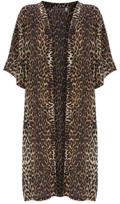 Mint Velvet Leopard Print Kimono