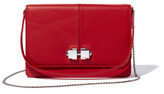 Carven Leather Chain Crossbody Bag