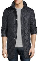 Burberry Quilted Nylon Carcoat, Black