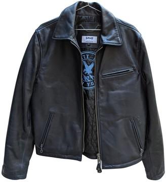 Schott Blue Leather Jackets