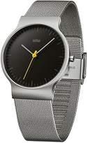 Braun Men's Watch Analogue Quartz Classic Wrist Watch Stainless Steel BN0211BKSLMHG