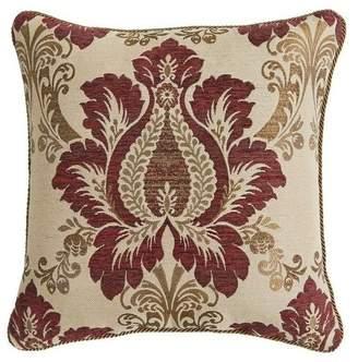 """Croscill Esmeralda Square Pillow 18"""""""