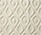 Peacock Alley Astoria Wash Cloth, Ivory - Ivory