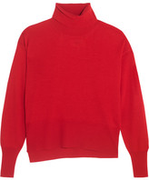 MM6 MAISON MARGIELA Wool Turtleneck Sweater - Red