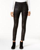 Calvin Klein Textured Coated Leggings