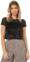 MinkPink Over The Line Top Black