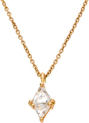 Sethi Couture Trillion Diamond Pendant Necklace