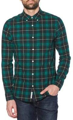 Original Penguin Slim-Fit Plaid Flannel Shirt
