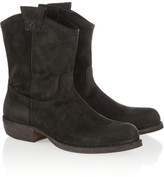 Fiorentini+Baker Fiorentini & Baker Cruna brushed-suede ankle boots