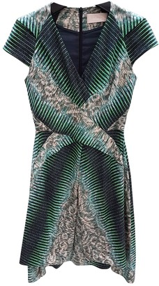 Peter Pilotto Green Silk Dress for Women