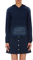 Chip Foster Women's Pullover Hoodie-BLUE, NAVY