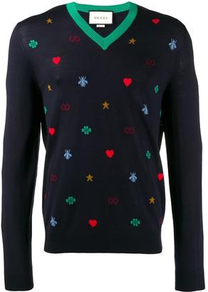 Gucci GG motif jumper