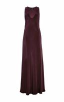 Tibi Long Bias Dress