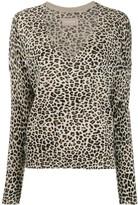 Zadig & Voltaire Zadig&Voltaire Brume leopard print pullover