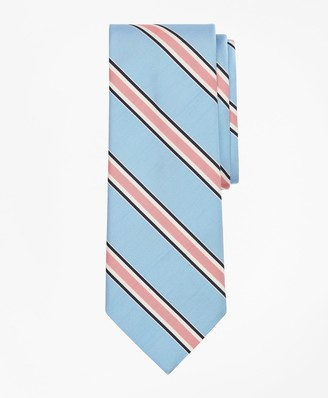 Brooks Brothers Three-Color Stripe Tie