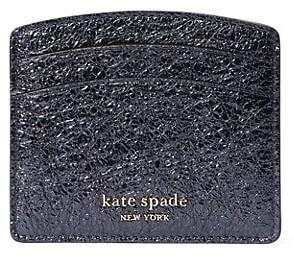 Kate Spade Spencer Metallic Leather Card Holder