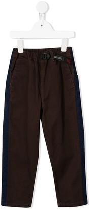 Denim Dungaree Elasticated Cargo Trousers