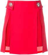 Versus pleated trim studded skirt - women - Polyester/Acetate/Viscose - 42