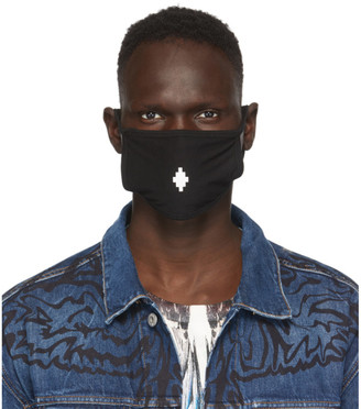 Marcelo Burlon County of Milan Black Cross Face Mask