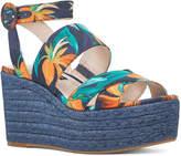 Nine West Women's Kushala Espadrille Wedge Sandal
