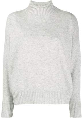 Allude long sleeve knit jumper