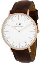Daniel Wellington Classic St Mawes Collection 0106DW Men's Analog Watch