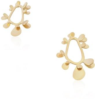 Daixa Somed Espiga Earrings - Gold