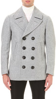 Burberry Double-breasted wool peacoat