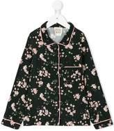 Douuod Kids floral print pyjama shirt