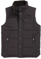 The North Face Boy's Patrick's Point Quilted Down Vest