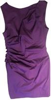 Christian Dior Purple Cotton Dress for Women