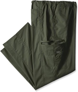 Cherokee mens Ww Core Stretch Drawstring Cargo Big & Tall Medical Scrubs Pants