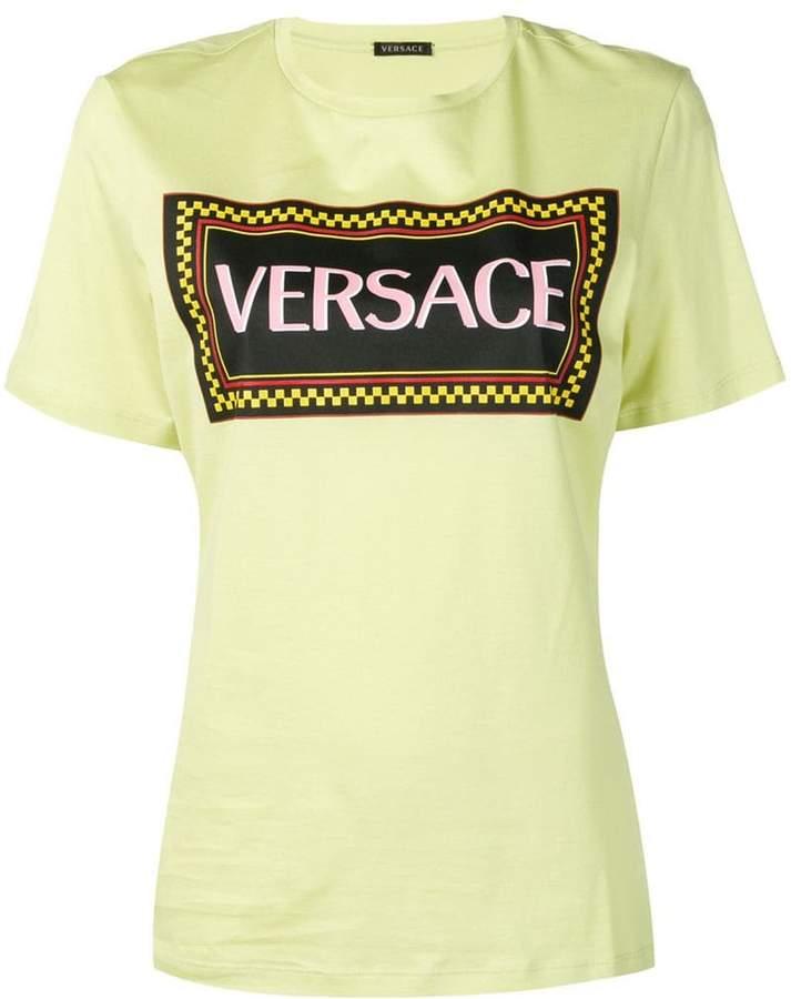23c31ce99 Versace Logo Tshirt - ShopStyle