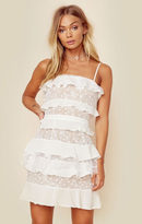 For love and lemons cosmic tiered lace dress