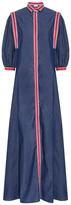 Alexis Mabille Chambray Shirt Dress