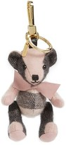 Burberry Women's 'Thomas' Check Bear Cashmere Bag Charm - Pink