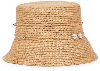 Sensi Lampshade straw panama hat