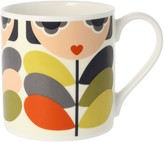 Orla Kiely Lady Stem Mug, 350ml, Multi