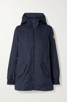 Canada Goose Ellscott Hooded Shell Jacket - Midnight blue