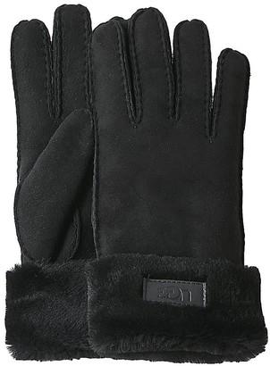 UGG Turn Cuff Gloves Black