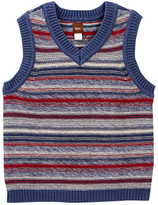 Tea Collection Haru Sweater Vest (Toddler Boys)