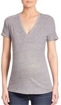 Monrow Maternity Short Sleeve T-Shirt