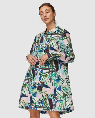 gorman Winter Garden Shirt Dress