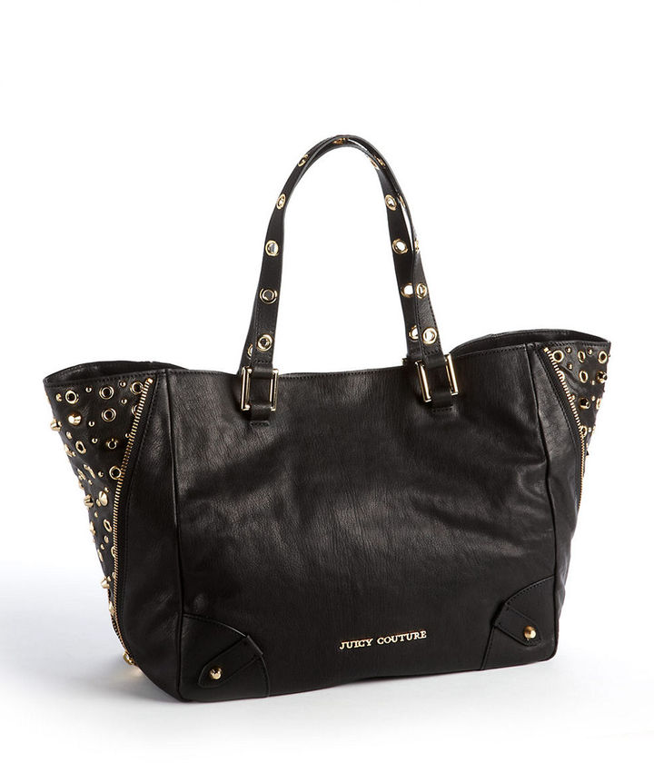 Juicy Couture Bedford Studded Leather Tote