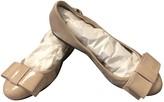 Prada Beige Patent leather Ballet flats