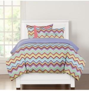 Crayola Mixed Palette 6 Piece Queen Luxury Duvet Set Bedding