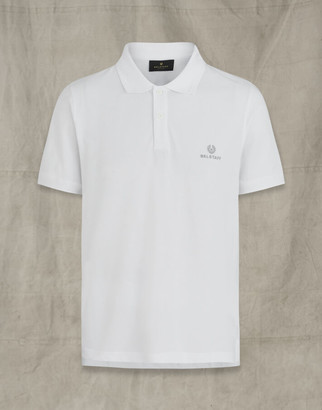 Belstaff SHORT SLEEVED POLO White