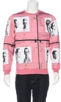 Carven Printed Crew Neck Sweatshirt w/ Tags