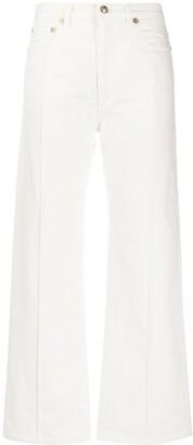 Ports 1961 Birkin high-rise wide leg jeans